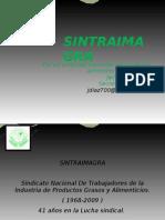 PRESENTACION SINTRAIMAGRA