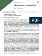 Ejecución del Contrato de Consultoría