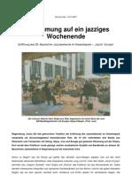 Konzertkritik Regensburg 2007