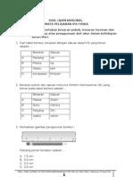 Soal Ujian Nasional Ipa Smp Berdasarkan Kisi-kisi Un 2012