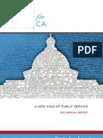 Code For America - 2011 Report