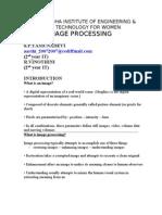 Image Processing 1