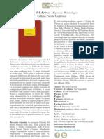 Teoria del Diritto - Approccio metodologico di Riccardo Guastini