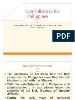 American Policies in the Philippines