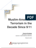 Kurzman Muslim-American Terrorism in the Decade Since 9 11