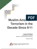 Kurzman Muslim-American Terrorism in the Decade Since 9 11