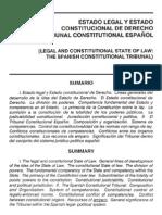 Estado Legal y Estado Constitucional de Derecho - MANUEL GARCÍA PELAYO