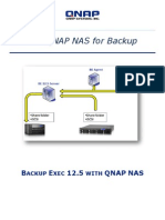 Backup Exec 12.5 With QNAP NAS