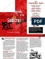 Legends of the Samurai - The Bushido Handbook