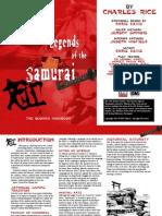 Legends of the Samurai - The Bushido Handbook