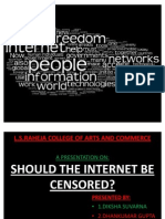 Should Internet Be Censored (Diksha and Group)