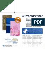 Bardin Waterproof Bible