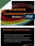 Business Communication Module1.