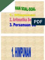 Soal Himpunan