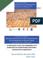 Riofrio mercados informales