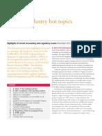 Banking Industry Newsletter