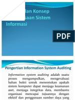 Pen Gen Alan Konsep Pemeriksaan Sistem Informasi