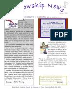 February 7 Fellowship News