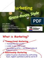 Marketing Grass Roots Style
