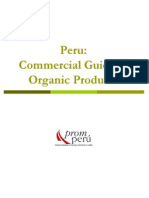 Comercial Guide of Organic Products