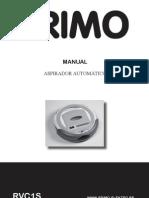 Instrucciones aspirador PRIMO RVC1