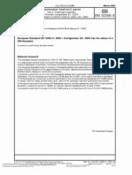 DIN en 12255-3 - Waste Water Treatment Plants - Part 3 Preliminary Treatment