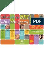 calendario de vacunas 2012