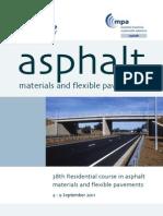 Asphalt Course Flyer