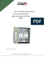 RPT9000 Manual 850Mhz