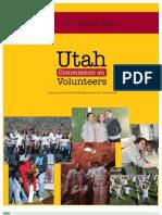 2011 Annual Report - Utah Commission on Volunteers