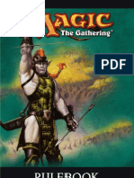 Magic the Gathering Rule Book