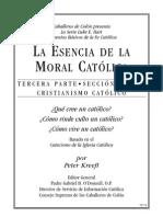 La esencia de la Moral Católica