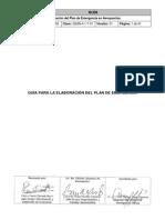 GSAN-4.1-7-01 GUÍA ELABORACIÓN PLAN DE EMEREGENCIA
