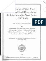 016_ Measurements of Wind-wave Growth and Swell Decay During the Joint North Sea Wave Project (JONSWAP)