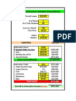 Flight School Cash Flow Analysis 2(1) 3 Dec 11