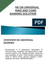 Seminar on Universal Banking