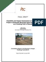 Briquette Rwanda Final Report