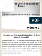 Introducao a Estrutura do Access