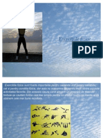 Exercitiile Fizice (Prezentare Power Point)
