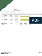 Programa  calendarizado de utilización de personal técnico,  administrativo y de servicio, encargado de la dirección, supervisión, control y administración de los trabajos