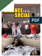 Balance Social Idipron 2010 Informe Gestion