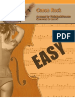 Violin Rock Star Can on Rock Sheetmusic Easy 1page