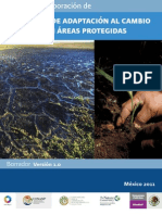 Guia Metodologica Programas de Adaptación al Cambio Climático CONANP