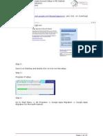Google Account Setup in Microsoft Outlook - Ver 1.0
