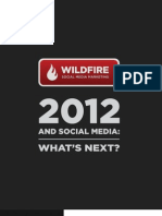 Wildfire 2012 Social Marketing Trend Forecast