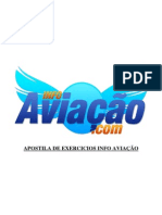 APOSTILA DE EXERCICIOS INFO AVIAÇÃO