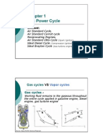 Gas Power Cycle