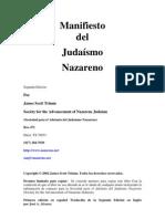 Manifiesto Nazareno en español