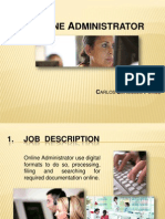 Online Administrator - Carlos