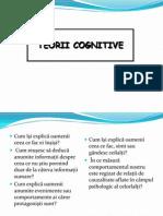 5. Teorii Cognitive